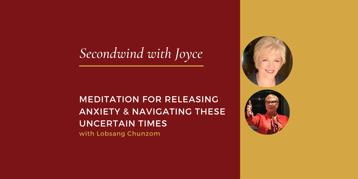 Meditation for Releasing Anxiety & Navigating These Uncertain Times